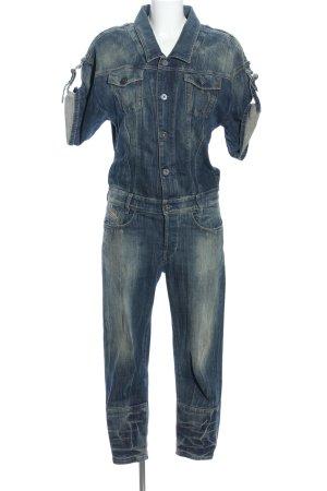 Diesel Jumpsuit blau Casual-Look