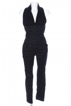 Diesel Jumpsuit schwarz Elegant