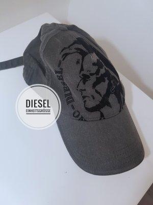 Diesel Baseballpet grijs