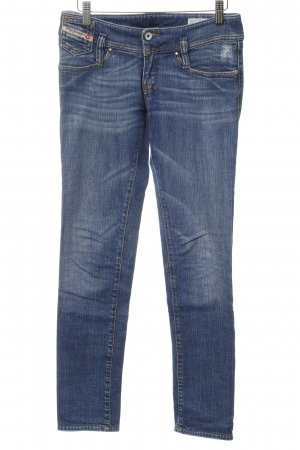 Diesel Carrot Jeans cornflower blue jeans look