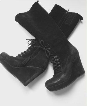 "DIESEL Keilabsatz-Stiefel Modell "" Dancing Queen"" SALSY schwarz Gr. 38"