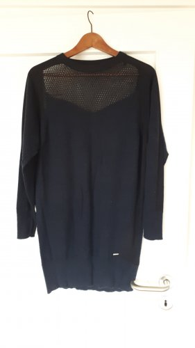 Diesel Vestito di lana blu-blu scuro