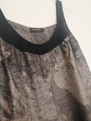 Diesel Kleid braun neuwertig 36 s Seide