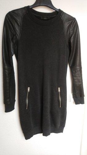 Diesel Robe à manches longues noir