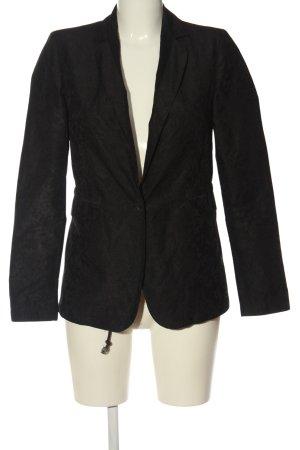 Diesel Korte blazer zwart volledige print elegant