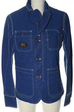 Diesel Korte blazer blauw elegant