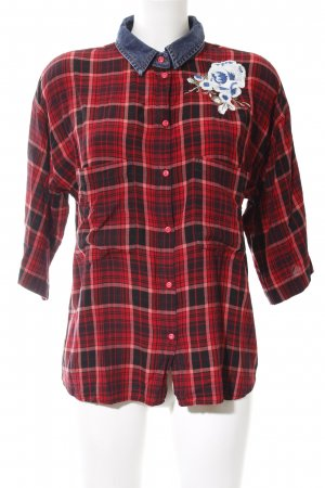 Diesel Short Sleeve Shirt multicolored viscose