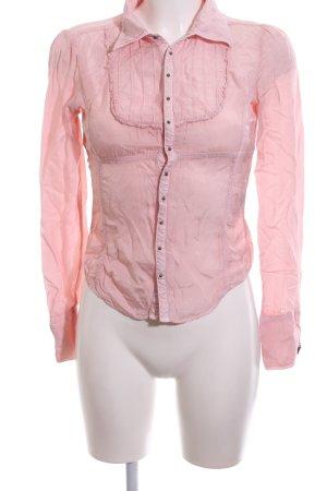 Diesel Langarm-Bluse pink Casual-Look