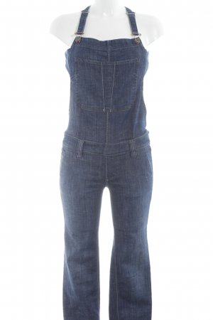 Diesel Bib Denim blue casual look