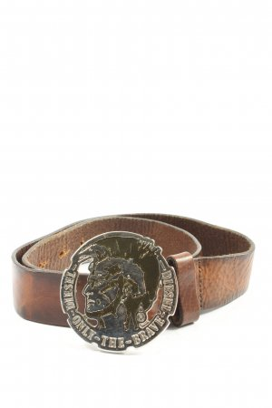 Diesel Leather Belt brown classic style