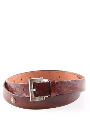 Diesel Leather Belt brown casual look
