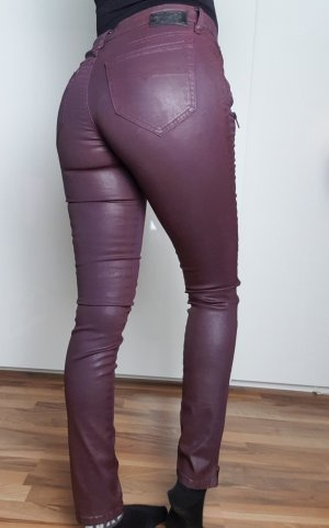 Diesel Lederoptik Jeans Hose gr.S