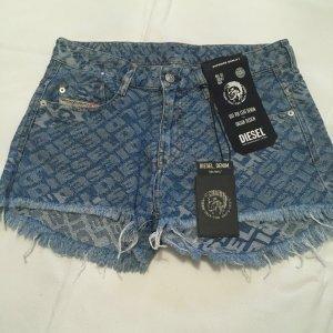 Diesel Pantaloncino di jeans multicolore