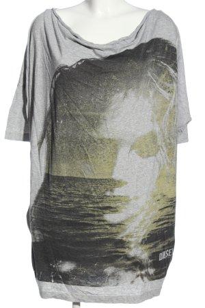 Diesel Longshirt Motivdruck Casual-Look
