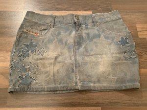 Diesel Jupe en jeans multicolore