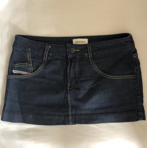 DIESEL - Mini skirt denim