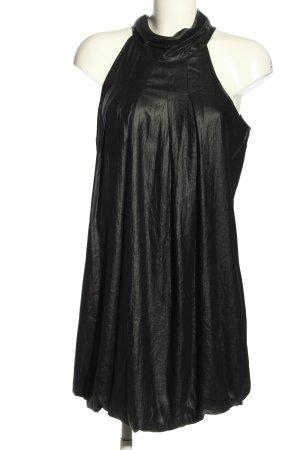 Diesel Mini vestido negro estilo extravagante
