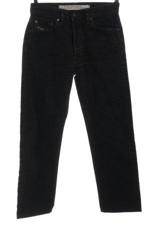 Diesel Mom-Jeans schwarz Casual-Look