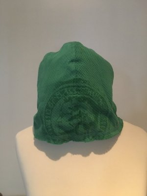 Diesel Fabric Hat lime-green cotton