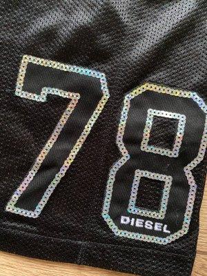 Diesel Capo da spiaggia nero-argento