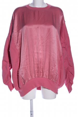 Diesel Oversized Pullover pink Casual-Look