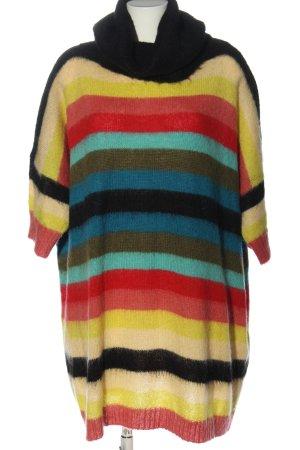 Diesel Sweaterjurk gestreept patroon casual uitstraling