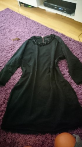 diesel pailetten kleid longpullover s 36