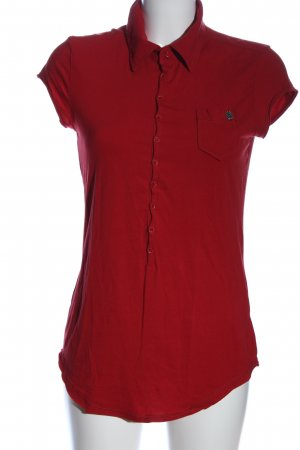 Diesel Polo-Shirt rot Casual-Look