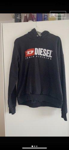 Diesel Capuchon sweater zwart