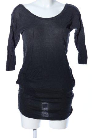 Diesel Vestido tipo jersey negro look casual
