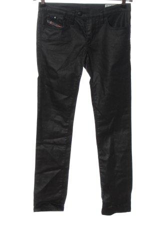 Diesel Drainpipe Trousers black casual look
