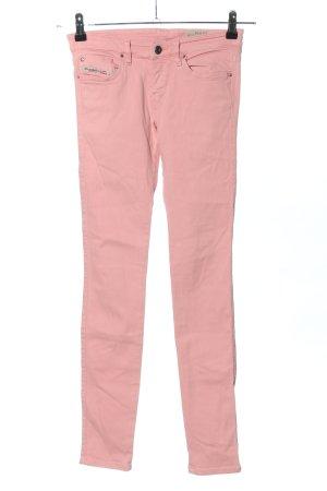Diesel Drainpipe Trousers pink casual look