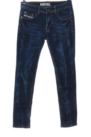 Diesel Drainpipe Trousers blue casual look