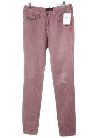 Diesel Drainpipe Trousers pink second hand look
