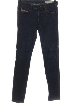 Diesel Jeansy rurki niebieski W stylu casual