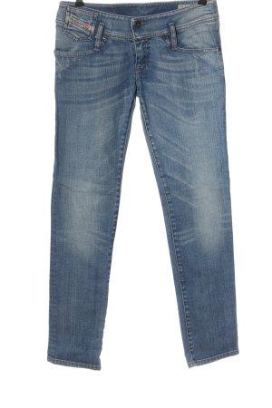 Diesel Jeans a sigaretta blu stile casual