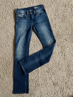 Diesel Ronhoir Jeans bootcut W25L32 darkblue