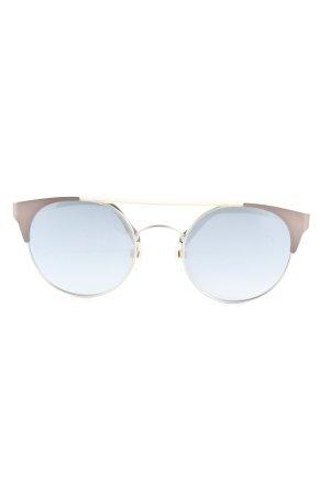 Diesel Ronde zonnebril bruin-blauw casual uitstraling