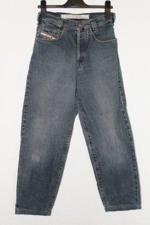 Diesel Saddle Jeans-Hose blau