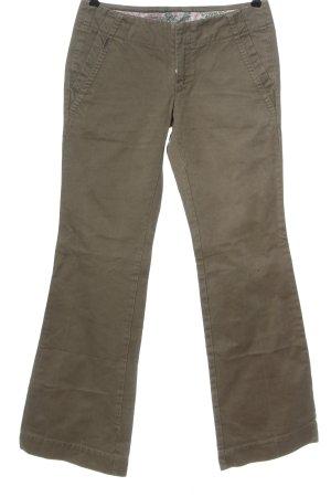 Diesel Pantalón de campana marrón look casual