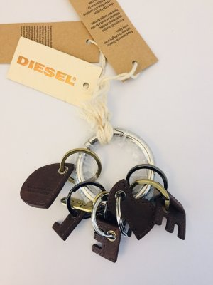 Diesel Key Chain brown