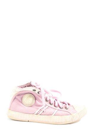 Diesel Schnürsneaker pink Casual-Look