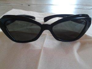 Diesel Zonnebril zwart