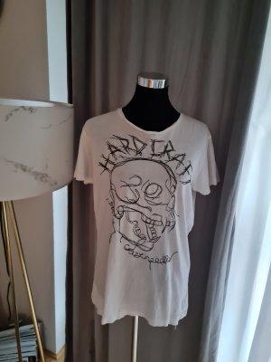 Diesel T-shirt biały