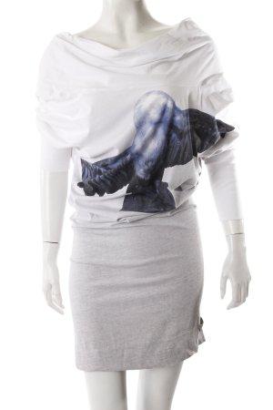 Diesel Shirtkleid mit Print
