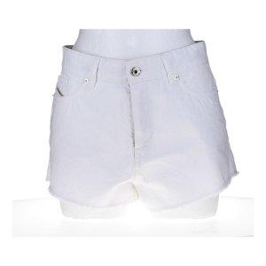 Diesel Shorts bianco Cotone