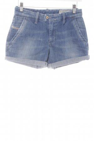 Diesel Shorts stahlblau Casual-Look