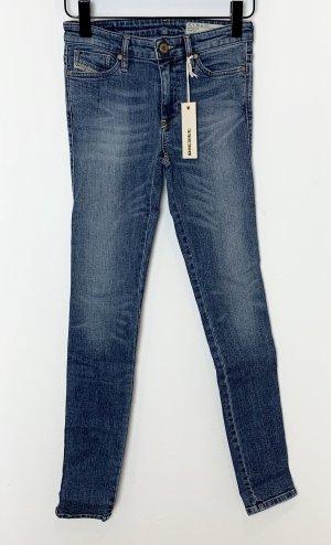 Diesel Skinny High Waist Jeans