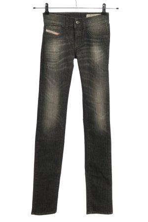 Diesel Skinny Jeans hellgrau Casual-Look