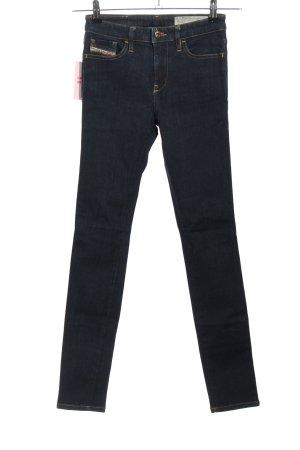 Diesel Skinny Jeans blau Casual-Look